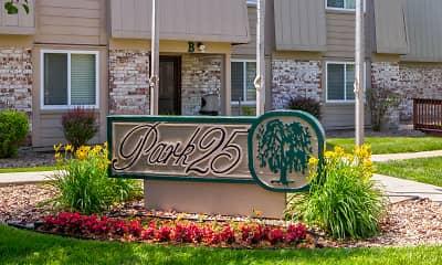 Community Signage, Park 25, 2
