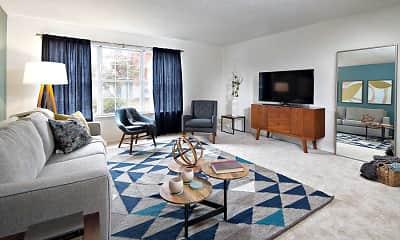 Living Room, eaves Lawrenceville, 1