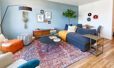 Living Room, Modera Buckman, 1