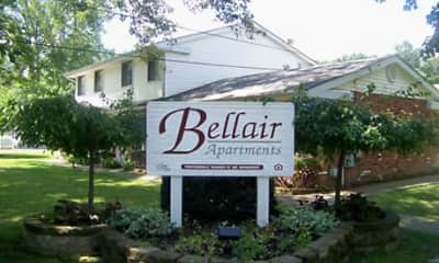 Community Signage, Bellair Apartments, 0
