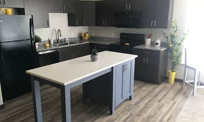Kitchen, The Cielo Luxury Apartments, 0