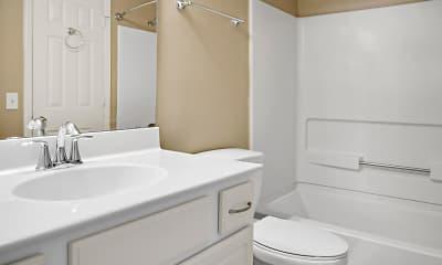 Bathroom, The Keys at 17th Street, 2