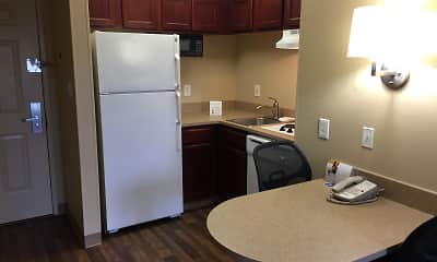 Kitchen, Furnished Studio - Memphis - Wolfchase Galleria, 1
