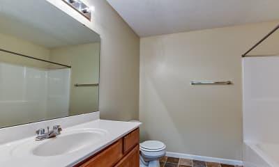 Bathroom, Willow Creek Apartments, 2