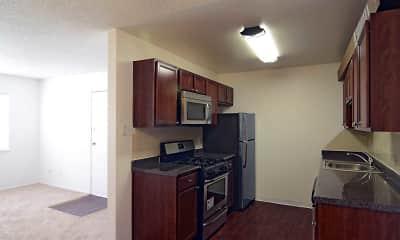 Kitchen, San Miguel Court, 1