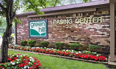 Community Signage, Green Hill Apartments, 2