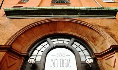 Building, 300 Cathedral, 1