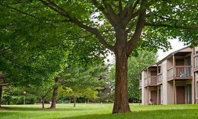 Building, Treetops, 1