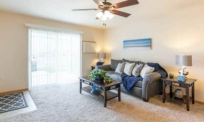 Living Room, Prosser Place Estates, 1