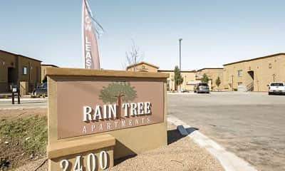 Community Signage, Raintree Apartments, 2