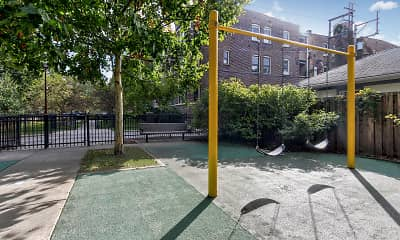 Playground, 305 South Oak Park, 1