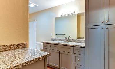 Bathroom, 93 North Apartments, 2