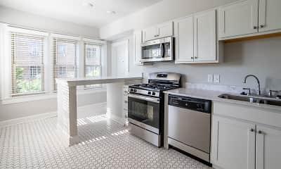 Kitchen, Buckingham Balmoral, 1