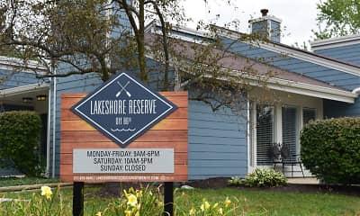 Community Signage, Lakeshore Reserve off 86th, 0