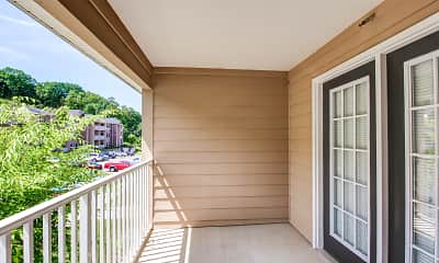 Patio / Deck, Holston Ridge Apartments, 2