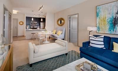 Living Room, The Esplanade at National Harbor, 1