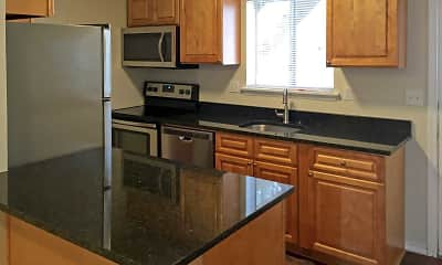 Kitchen, Summit and Birch Hill Apartments, 1