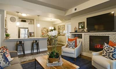 Living Room, Steeplechase Apartments, 0