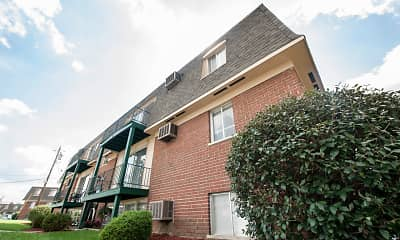 Building, Delshire Apartments, 1