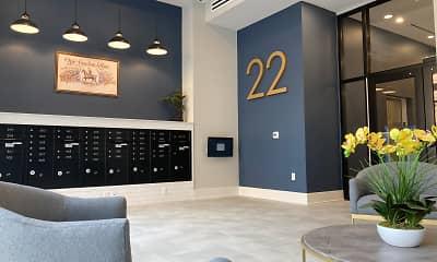 Living Room, 22 Light Apartments, 1