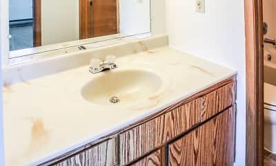 Bathroom, Chatham Village, 2