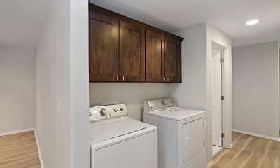 Bathroom, Lancaster Apartments, 2