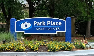 Community Signage, Park Place, 0