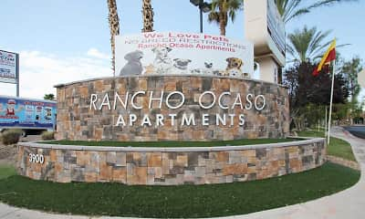 Community Signage, Rancho Ocaso, 2