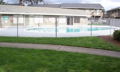 Pool, Arborcrest Apts, 1