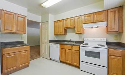 Kitchen, Lantern Hill Apartments, 1
