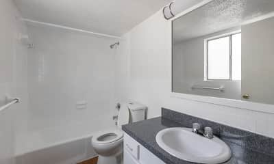 Bathroom, Townsend Apartments, 2