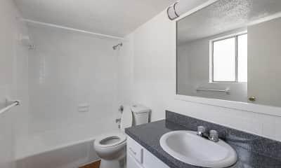 Bathroom, Townsend Apartments, 2