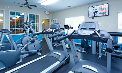 Fitness Weight Room, Centennial Ridge and Village, 1