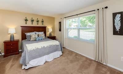 Bedroom, Sherwood Village Apartment Homes, 1