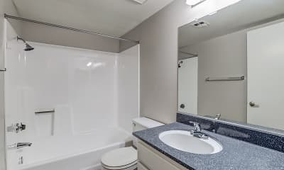 Bathroom, Citrus Grove Apartments, 2