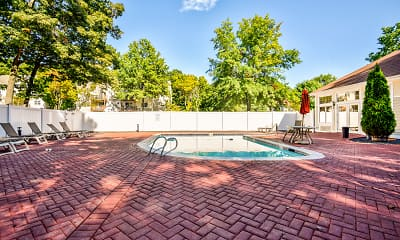 Pool, Littlebrook Apartments, 1