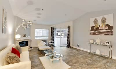 Living Room, Solace Apartment Homes, 0