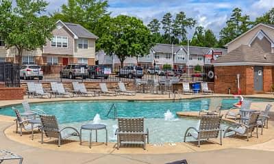Pool, University Suites Student Apartments, 1