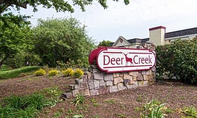 Community Signage, Deer Creek, 2
