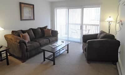 Living Room, The Arbors, 1