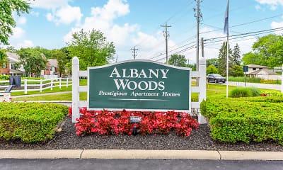 Community Signage, Albany Woods, 2