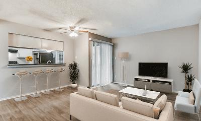 Living Room, Sofia Apartments, 1