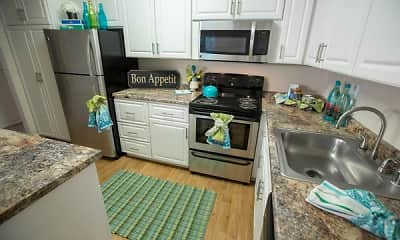 Kitchen, Abby Creek Apartment Homes, 1