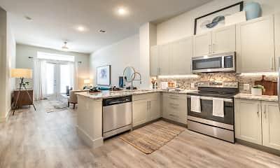 Kitchen, Modera Dallas Midtown, 0