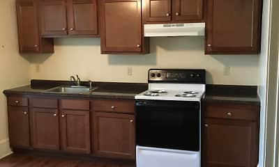 Kitchen, Williamsport Apartments, 1