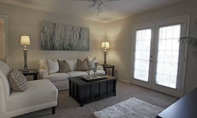 Living Room, Cimarron Ridge Apartments, 1