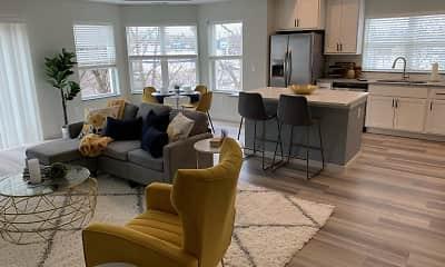 Living Room, NOVO APARTMENTS, 0
