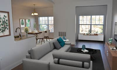 Living Room, The Commons at Boston Road, 2