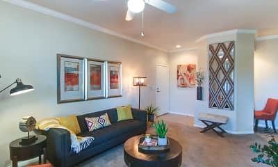 Living Room, The Enclave at Menifee, 1