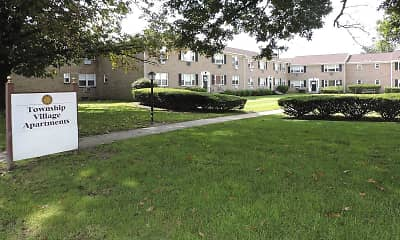Community Signage, Township Village Apartments, 1